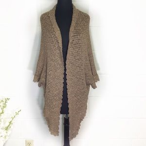 Anthropologie Angel of the North Dolman Cardigan
